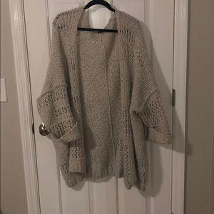 Free People sweater Cardigan.